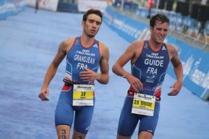 Arnaud Grandjean et Julien Hervio (guide)
