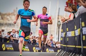 Luis pursuing Schoeman - run - Super League Malta 2018 (SLT)