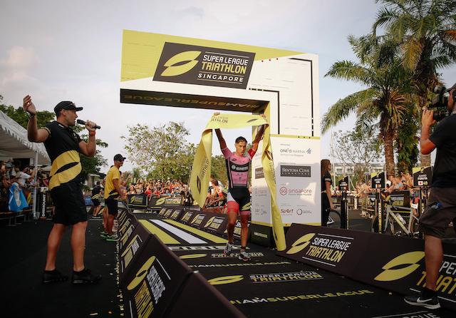 Super League Triathlon SIngapore 2019