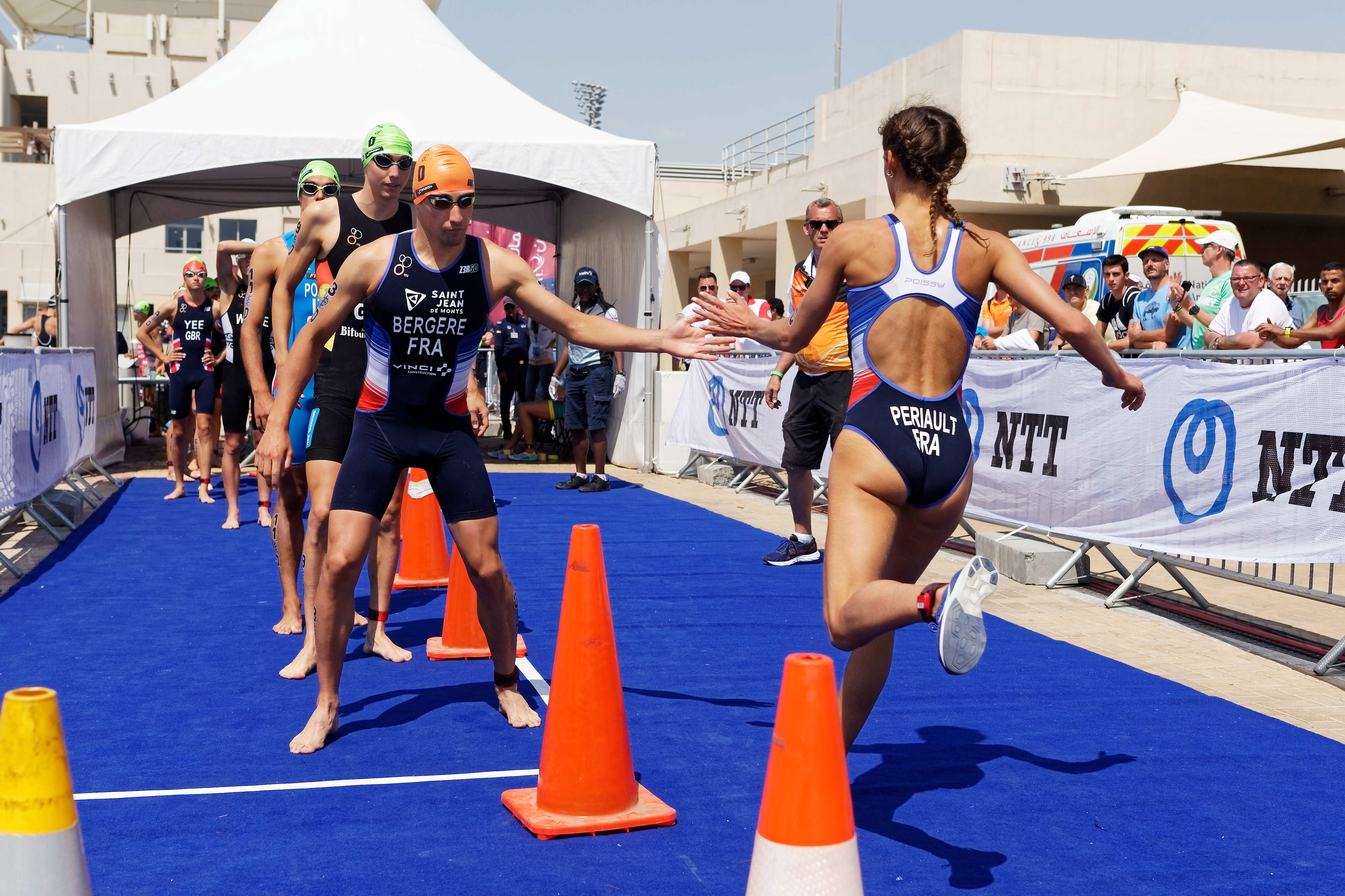 2019 Daman World Triathlon Mixed Relay Series Abu Dhabi